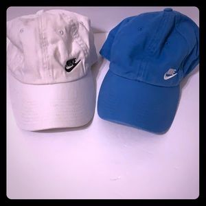 Women's Nike Hats Blue and White Good Condition